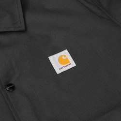 CARHARTT WATCH COACH JACKET BLACK-BROKEN WHITE