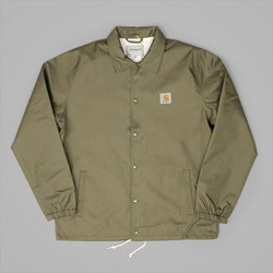 CARHARTT WATCH COACH JACKET ROVER GREEN-BROKEN WHITE