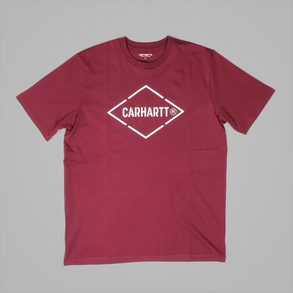 CARHARTT WIP DIAMOND T-SHIRT VARNISH WHITE