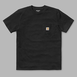 CARHARTT WIP S/S POCKET T-SHIRT BLACK