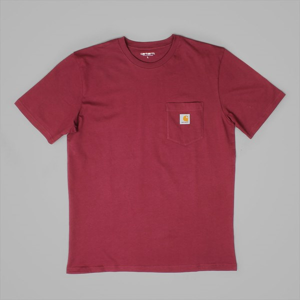 CARHARTT WIP SS POCKET T-SHIRT VARNISH