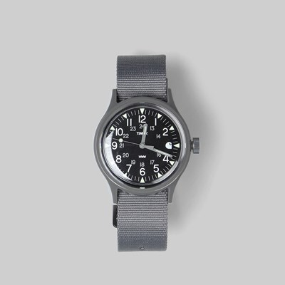 CARHARTT WIP X TIMEX WATCH GREY BLACK