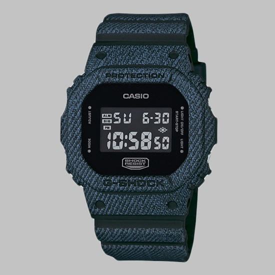 G SHOCK WATCH DW-5600DC-1ER DARK DENIM