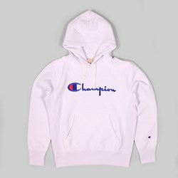 CHAMPION REVERSE WEAVE HOODED SWEAT LAVENDER