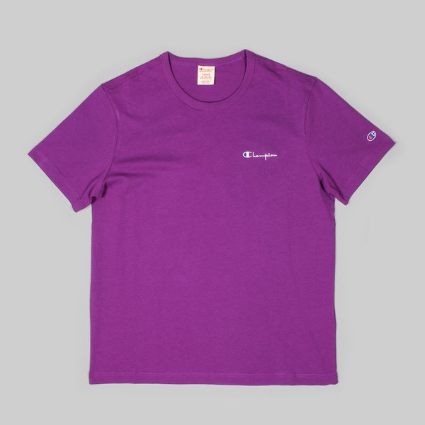 c7062f268 CHAMPION SS T-SHIRT SMALL LOGO GRAPE | CHAMPION ...
