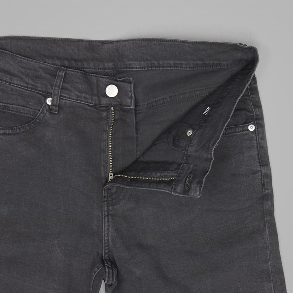 CHEAP MONDAY TIGHT CUT JEANS GREY