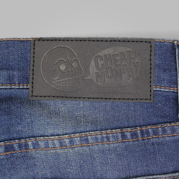 CHEAP MONDAY TIGHT JEANS CARBON BLUE