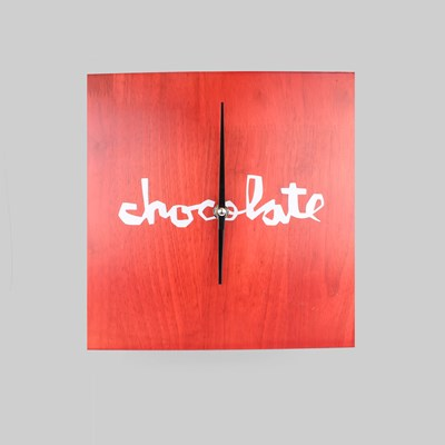 CHOCOLATE SKATEBOARDS CHUNK CLOCK RED