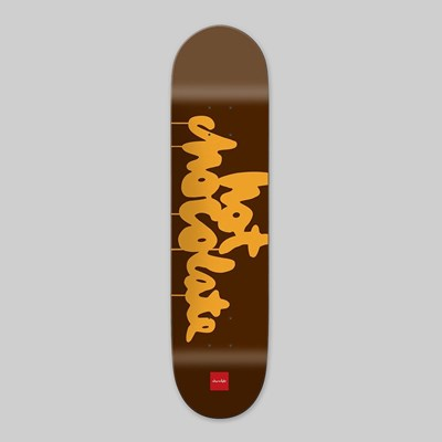 CHOCOLATE SKATEBOARDS HOT CHOCOLATE DECK 8.5""