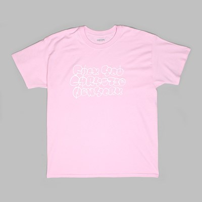 CHRYSTIE FYCN LOGO SS T-SHIRT LIGHT PINK