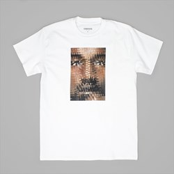 CHRYSTIE NYC FAMOUS MAN TEE WHITE