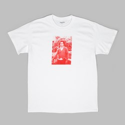 CHRYSTIE NYC 'GONZ' P.SUTHERLAND PHOTO TEE WHITE