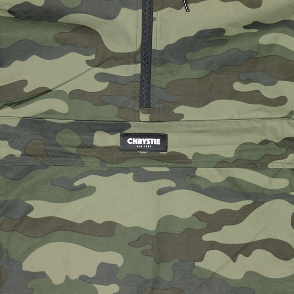 CHRYSTIE NYC OG LOGO JACKET MILITARY GREEN