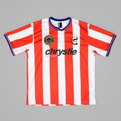 CHRYSTIE NYC TEAM SOCCER JERSEY RED WHITE