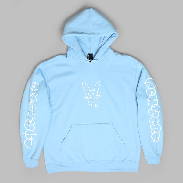 CHRYSTIE SUMMER RABBIT PO HOODIE LIGHT BLUE