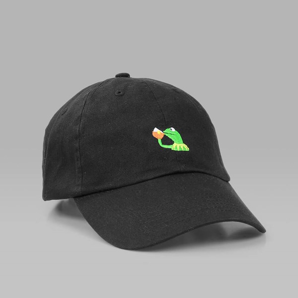 c71928a5a01 CIGARETTE BRAND NONE OF MY BUSINESS DAD HAT BLACK ...