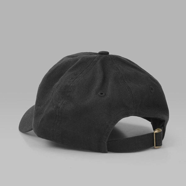 CIGARETTE BRAND NONE OF MY BUSINESS DAD HAT BLACK