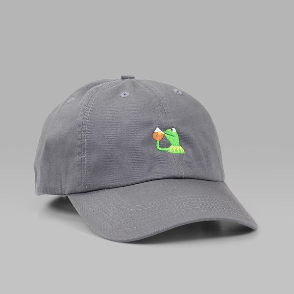 CIGARETTE BRAND NONE OF MY BUSINESS DAD HAT GREY