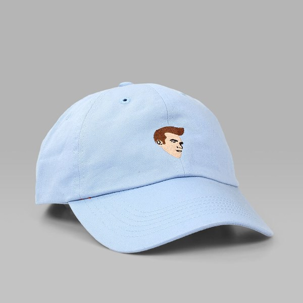 CIGARETTE MOZZA HATFUL OF HOLLOW DAD HAT BABY BLUE