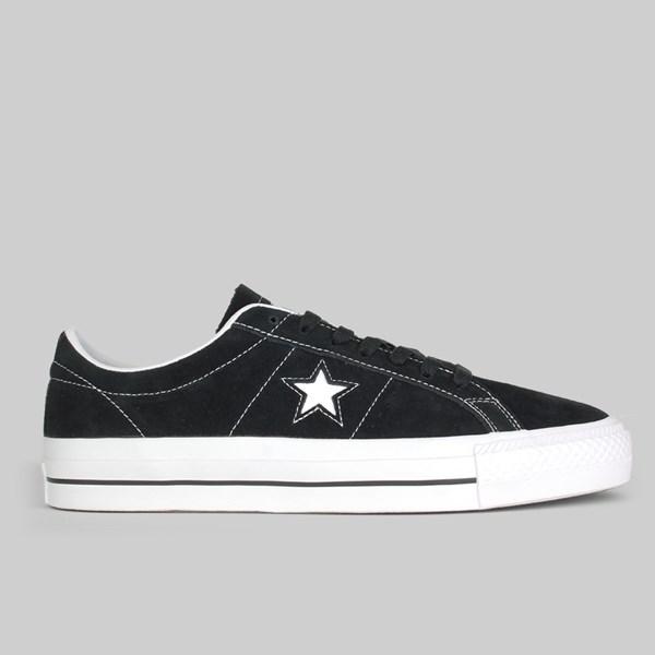 f8c18d33e9f9 CONVERSE CONS ONE STAR PRO OX BLACK WHITE