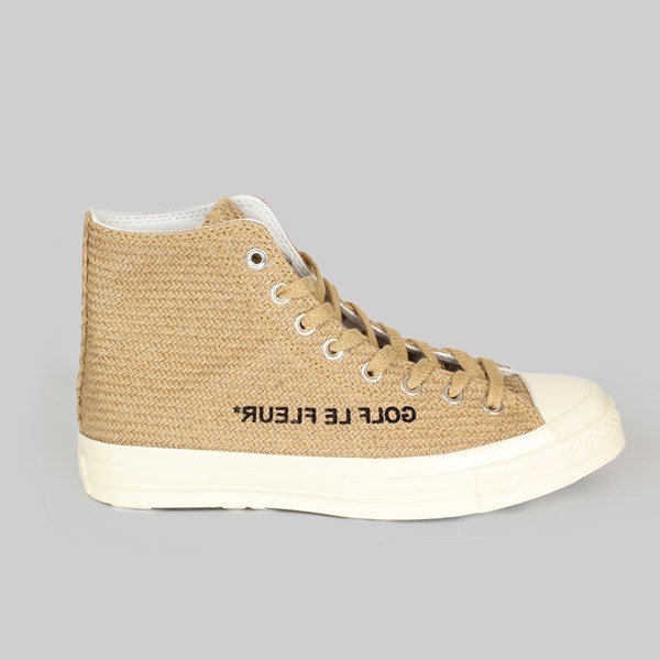 CONVERSE GOLF LE FLEUR CHUCK 70 HI CURRY EGRET BLACK
