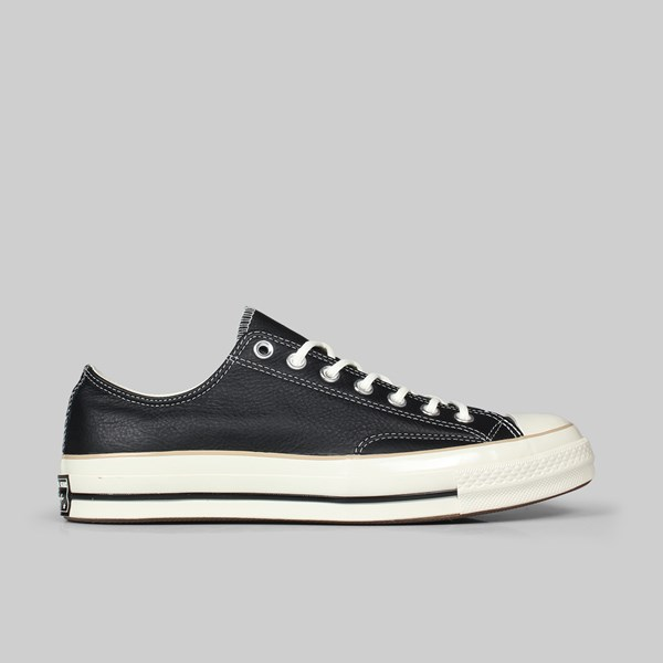 CONVERSE CHUCK 70 OX BLACK LIGHT FAWN EGRET