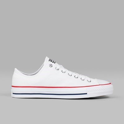 CONVERSE CONS CTAS PRO OX WHITE RED INSIGNIA BLUE