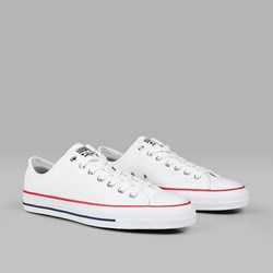CONVERSE CONS CTAS PRO OX WHITE RED INSIGNIA