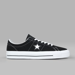 CONVERSE CONS ONE STAR PRO OX BLACK WHITE