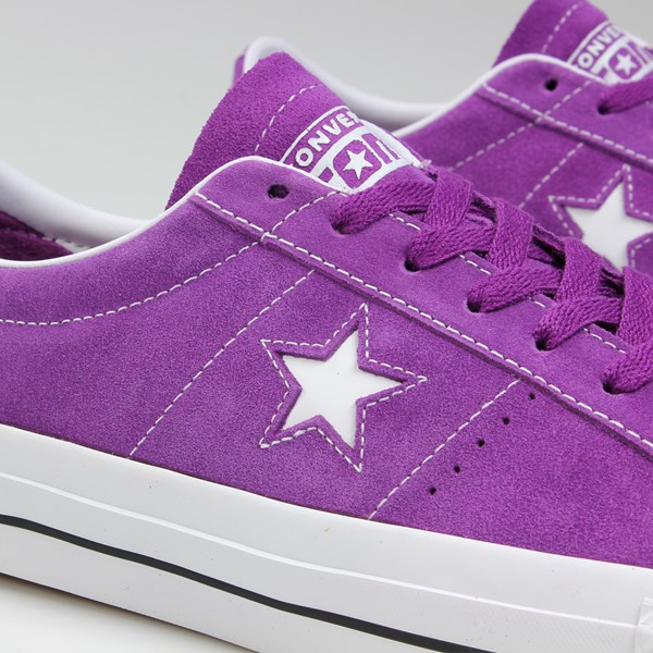 CONVERSE CONS ONE STAR PRO OX ICON VIOLET WHITE