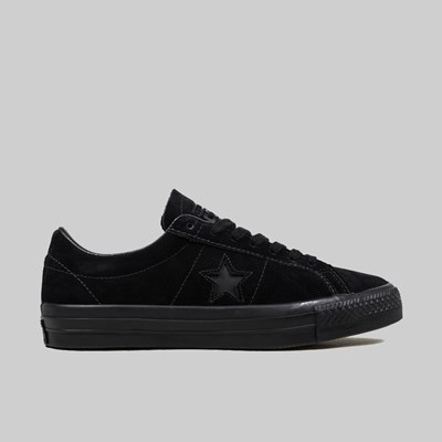 CONVERSE CONS ONE STAR PRO OX BLACK BLACK