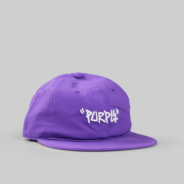 CONVERSE CONS PURPLE STRAPBACK CAP PURPLE