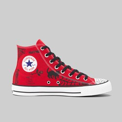 CONVERSE CONS X SEAN PABLO CTAS PRO HI ENEMEL RED BLACK