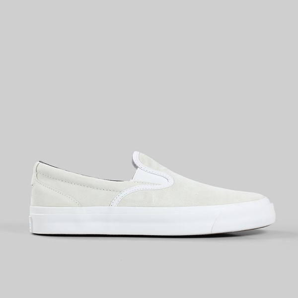 CONVERSE ONE STAR CC SLIP ON WHITE BLACK