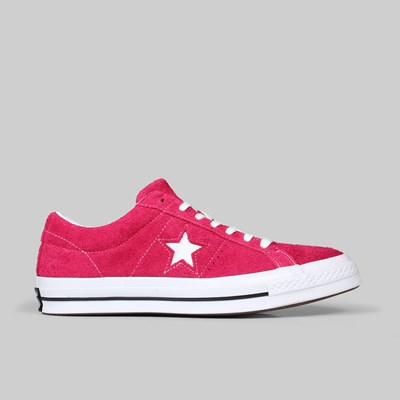 CONVERSE ONE STAR OX PINK POP WHITE WHITE