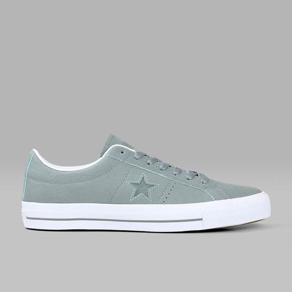 2d33e0ddd52 CONVERSE ONE STAR PRO Camo Green Glow White