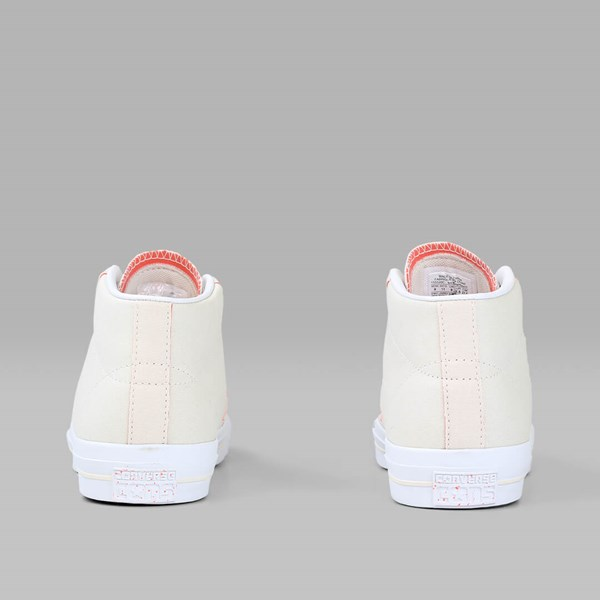 CONVERSE ONE STAR PRO MID Natural Hyper Orange