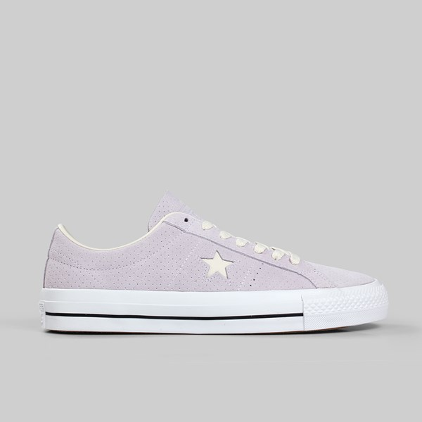 CONVERSE ONE STAR PRO OX BARELY GRAPE DRIFTWOOD
