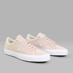 CONVERSE ONE STAR PRO OX DUSK PINK EGRET WHITE