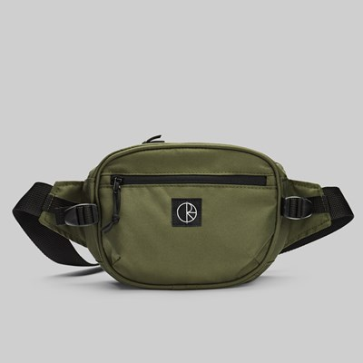 POLAR SKATE CO. CORDURA HIP BAG OLIVE