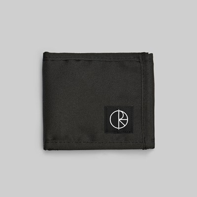 POLAR SKATE CO. CORDURA WALLET BLACK