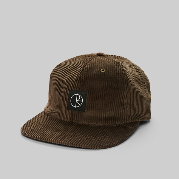 2009f3e0f04 POLAR SKATE CO. CORDUROY CAP BROWN