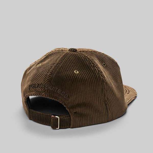 d21224a41a4 POLAR SKATE CO. CORDUROY CAP BROWN