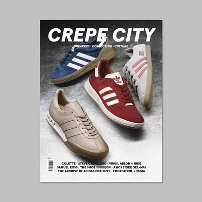 CREPE CITY MAGAZINE ISSUE FIVE - ADIDAS COVER