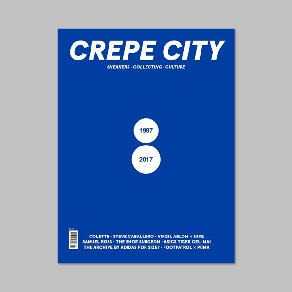 CREPE CITY MAGAZINE ISSUE FIVE - COLETTE COVER