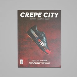 CREPE CITY MAGAZINE ISSUE FOUR - AIR MAX 1 MASTER COVER