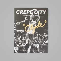 CREPE CITY MAGAZINE ISSUE THREE - CLYDE COVER