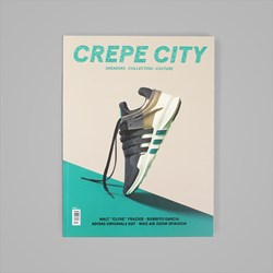 CREPE CITY MAGAZINE ISSUE THREE - EQT COVER