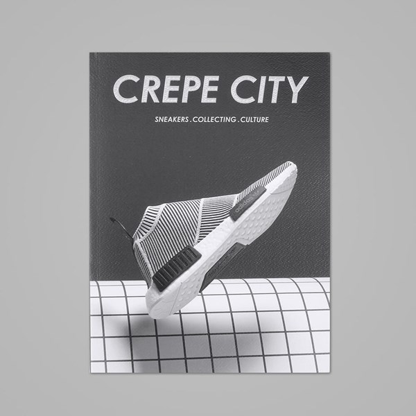 CREPE CITY MAGAZINE ISSUE TWO - ADI COVER