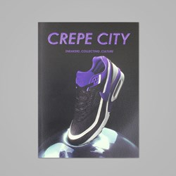 CREPE CITY MAGAZINE ISSUE TWO - NIKE COVER